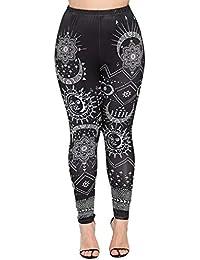 Femmes imprimées Sport Yoga entraînement Gym Fitness Exercice athlétique  Pantalon Slim Jeans Combinaisons Short Collants Leggings… b2c55f9738e