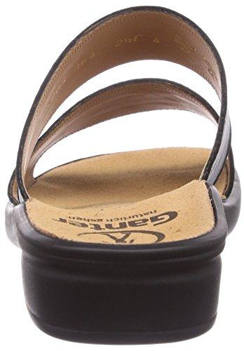 Ganter - Sonnica, Weite E, Pantofole A Casa da donna Nero (Schwarz (schwarz 0100))
