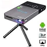 OTHA Videoprojecteur, Pico Projecteur, Projecteur Portable, Cinéma Maison sans Fil...