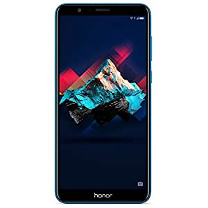 "Honor 7X - 4GB+64GB, Dual Sim, Dual Camera 16+2MP, 5.93""Full View Display, SIM-Free Smartphone - UK Official Device - Blue"