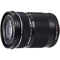 Olympus M.Zuiko - Objetivo Digital ED 40-150mm F4-5.6, teleobjetivo, apto para todas las cámaras MFT (modelos Olympus OM-D & PEN, serie G de Panasonic), negro