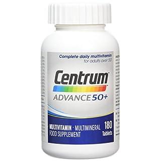 Centrum Advance 50 Plus Multivitamin Tablets, Pack of 180