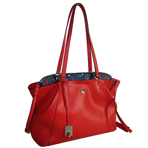 Piero Guidi Borsa donna Shopper in pelle rossa MC Leather 210311082.74