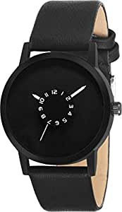 Maa Creation Analogue Black Chakri Dial Men's Watch