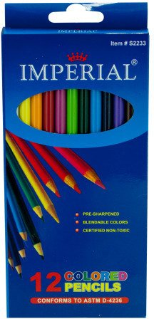 (12 pack colored pencils)