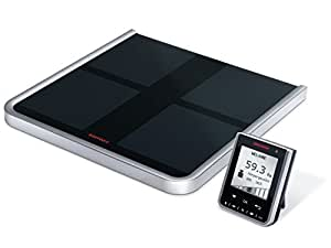 Soehnle Body Balance Comfort Select - personal scales (LCD, Black, Glass, Plastic, 332 x 335 x 29 mm)