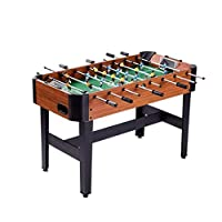 Tabletop double foosball, large 8-pole football table game, adult foosball machine, foosball game table, length: 116 cm * width * 66 cm height 12 cm
