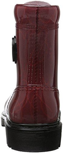 Armani Jeans 9251186a521 Damen Kurzschaft Stiefel Rot (BORDEAUX 00176)