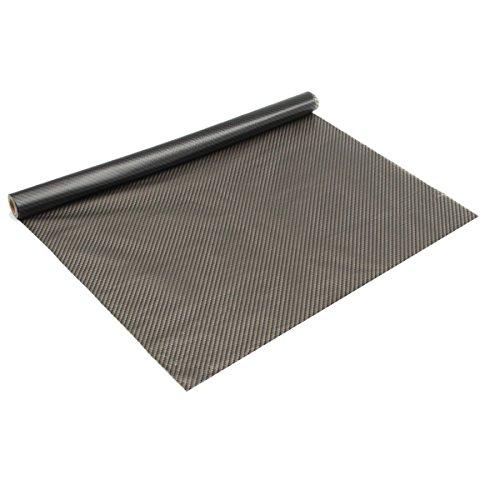 ChaRLes 50X500Cm Pva Carbon Texture Water Transfer Film Fiber Hydro Dip Printing Sheet (Pva-film)