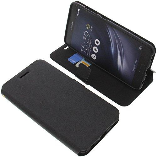foto-kontor Tasche für Asus ZenFone AR ZS571KL Book Style schwarz Schutz Hülle Buch