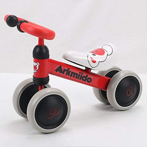 Arkmiido Baby Balance Bike, Vélo sans Pédales enfant, Porteur Bebe 1-3 ans premier vélo, tricycle...