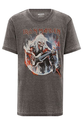 eleven-paris-iron-maiden-logo-herren-t-shirt-iron-7-grau-s-xl-xl