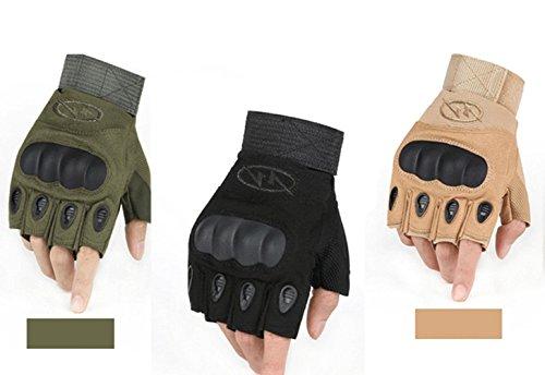 Leefrei Herren Taktische Handschuhe fingerlos Handschuhe Fahrradhandschuhe Motorrad Handschuhe outdoor sport Handschuhe Fitness Handschuhe...