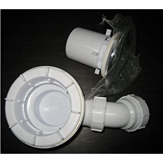 90MM Fast flow waste trap For Shower Enclosure tray (Q5)