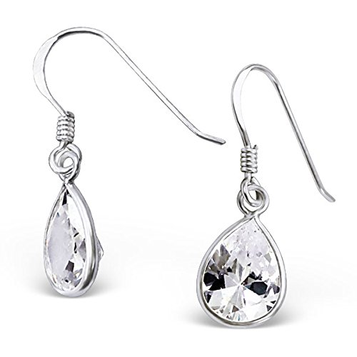 si-si-select-quality-925-sterling-silver-dangly-earrings-single-cz-teardrop-hooks-boxed