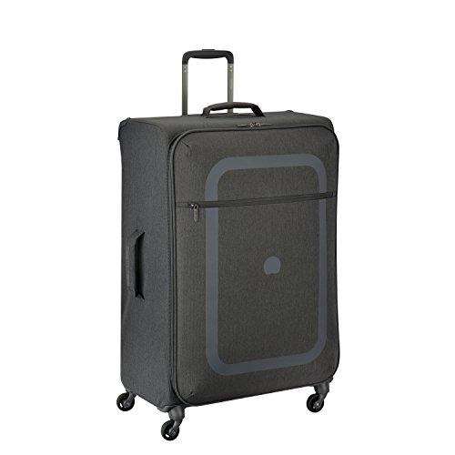 DELSEY PARIS DAUPHINE 3 Koffer, 77 cm, 99 liters, Grau (Gris Poivre)