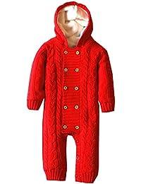 ZOEREA pull bébé garçon enfant cardigan barboteuse bébé pyjamas bébé vetement bebe fille costume enfant garçon manches longues chandails de Noël Sweaters
