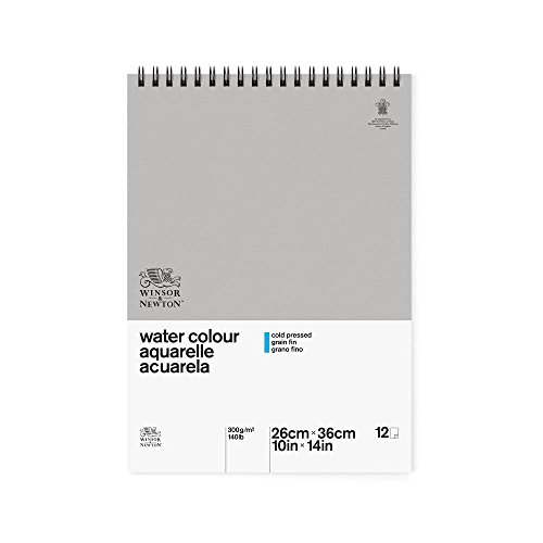 winsor-newton-254-x-356-cm-300-gsm-cold-pressed-water-colour-paper-spiral-pad