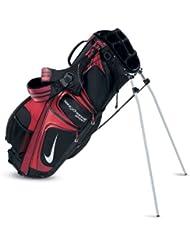 Nike Xtreme Sport LL rot/schwarz tragende Stand Golf Tasche