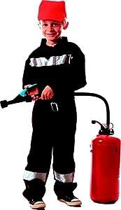 Party Pro-bombero disfraz, 8711761012, 10-12años