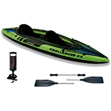 Intex - 68306 Challenger K2 - Kayak hinchable, 351 x 76 x 38 cm