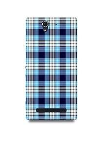 Blue Checks Sony C3 Case
