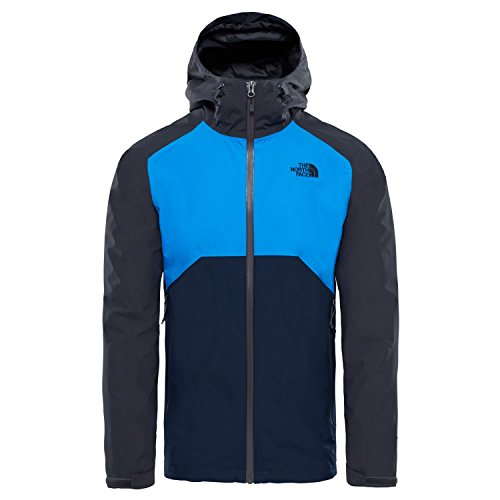 The North Face Herren M M Stratos Jacket Bo, Asphalt Grey, L (North Alpine Face Jacket Men)
