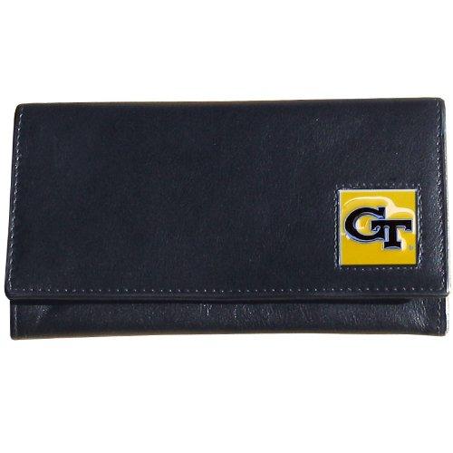 Siskiyou NCAA Damen Geldbörse Leder, Damen, Georgia Tech Yellow Jackets