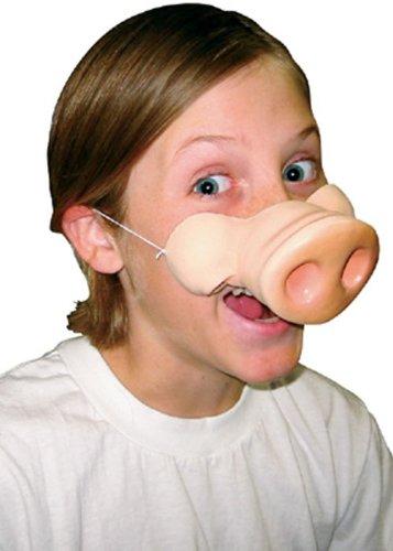 Imagen de nariz de cerdo de disfraces