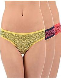 Amante E Bikini Print 3PC PPK PPK33102(PPK33102_) Floral Dark PR 02 L