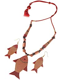 More Bangla RiverFish Queen Handcrafted Terracotta