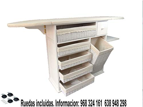 Meyvaser Mueble planchador Estoril Blanco