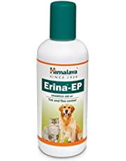 PetSutra Himalaya Antimicrobial and Antifungal Tick and Flea Control Erina-EP Shampoo for Dogs and Cats with Complementry Pack (200 ml)