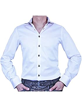 Maddox Slim Fit Trachtenhemd Mar