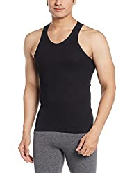 Force NXT Mens Cotton Vest (8902889608679_MNFR-231_Large_Black)