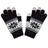ZHANGYUGEGE Frauen aus Gewirken Touchscreen fünf Finger Handschuhe Winter süße