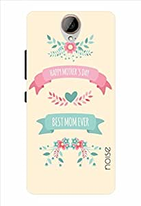 Noise Best Mom Ever-Cream Printed Cover for HTC One E9 Plus
