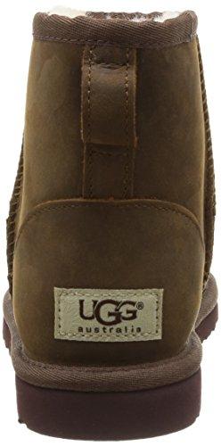 UGG Mini Classic Scarpe a collo alto, Donna Marrone (Chestnut)