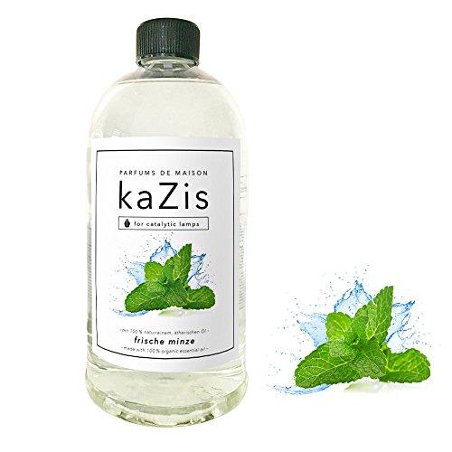 KAZIS I MINZE DUFT I Parfums de Maison I Nachfüll-Öl (Refill) I 1000 ml I 1 Liter I katalytische Lampe Raum-Duft (Wäsche Refill Duft)