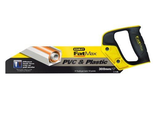 Stanley 217206 FatMax Scie pour PVC et plastique 300 mm (Import Grande Bretagne)
