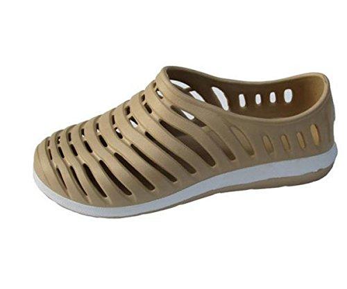LOBTY Erwachsen Clogs Herren Pantoffeln Sandalen Schuhe Flats herren Flip flops Gr.39-44 Khaki