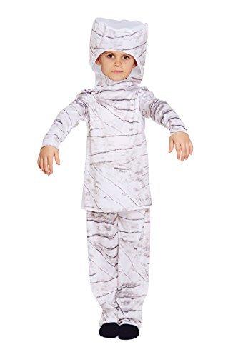 Halloween-Abendkleid Kind Mumie Kostüm Alter von 4-6 (Mumie Halloween Kostüm)