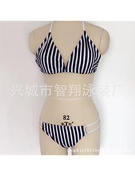 Presidente _ en traje de baño moderno y cómodo, traje de baño bikini moda blanco ,XL bikini,