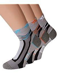 Damen Trekking Socken Set Trekkingsocken Damen Sportsocken Funktionssocken Joggingsocken, 2 oder 6 Paar