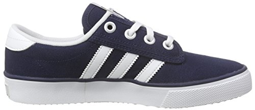 adidas Kiel, Chaussures de Skateboard mixte adulte Bleu (Collegiate Navy/Ftwr White/Carbon)