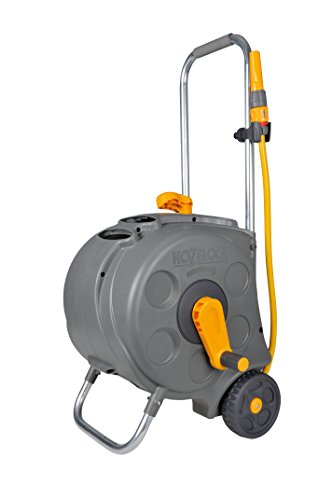 Hozelock Compact Cart with 30m Hose Test