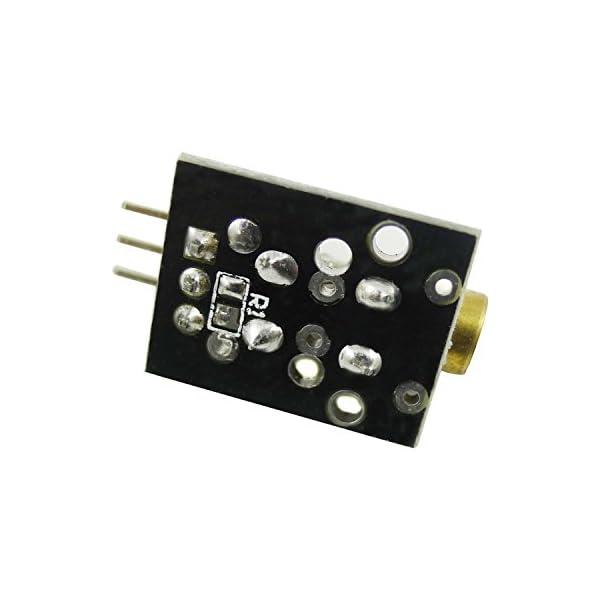 41ui5K125LL. SS600  - Aihasd KY-008 650nm 5V módulo de Sensor láser para Arduino con demo código