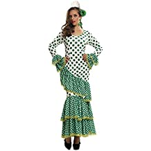My Other Me Disfraz de Flamenca, talla XL, color verde (Viving Costumes MOM01115