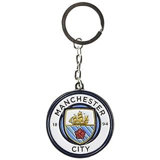 FC Manchester City 2665Schlüsselanhänger Metall Unisex Erwachsene, Ocean Blue