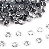 1440pcs DIY Strass Thermocollant Hotfix Diament crystal transparent S10
